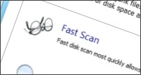 Fast Disk Scan
